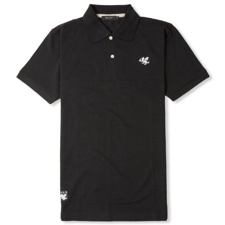 "Senlak ""Rebel English"" Polo - Black"